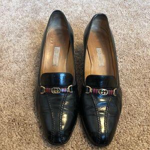 f79358158bf Women s Black Gucci Vintage Shoes on Poshmark